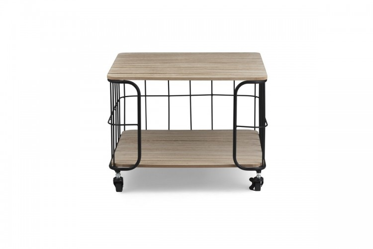 Trolley salontafel industrieel