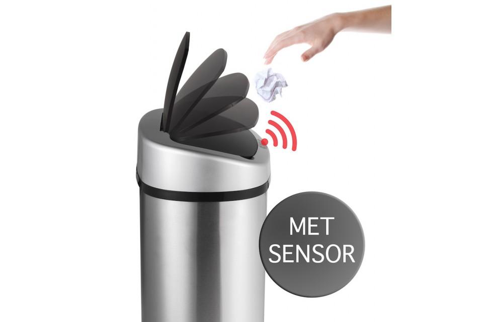 RVS afvalemmer met sensor