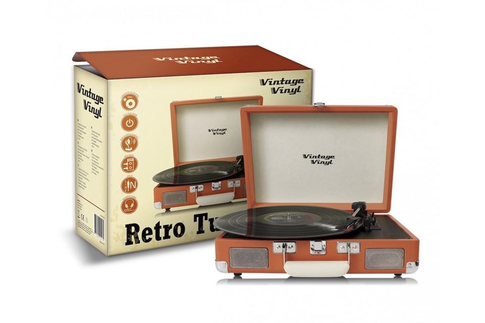 Vintage Vinyl Retro platenspelers