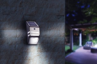 Led solar muurlamp New York